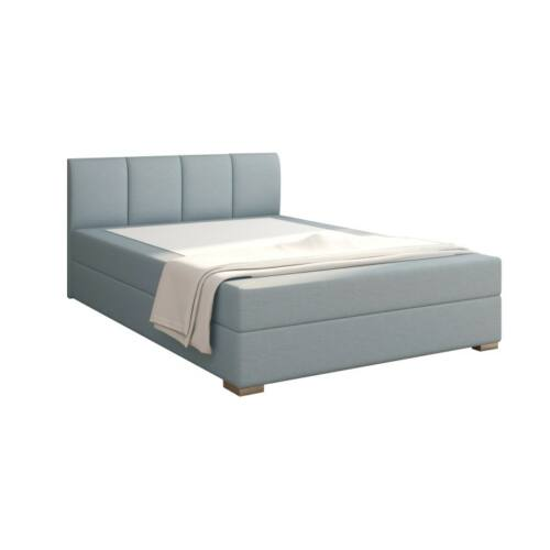 RIANA Boxpring ágy 120x200,  mentol [KOMFORT]