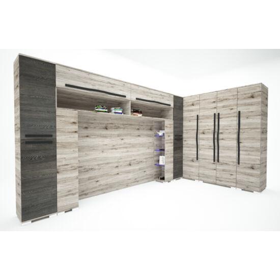 NEST szekrénysor - san remo-canterbury, 392x200 cm