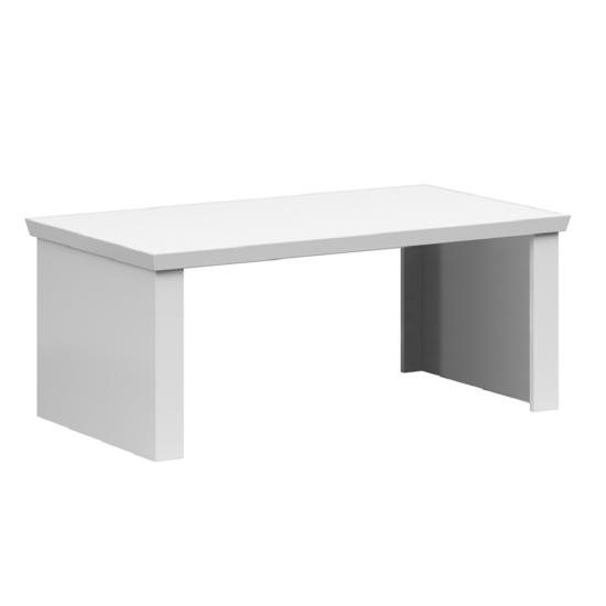 ARYAN Dohányzóasztal - 110cm,  fehér