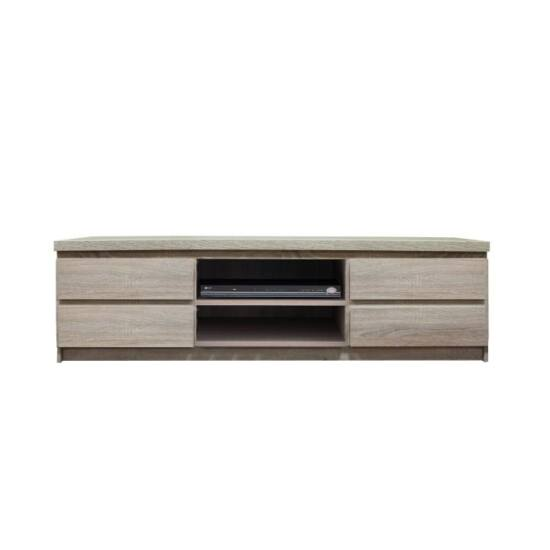 PANAMA RTV asztal / szekrény,  tölgyfa sonoma [TYP 06]