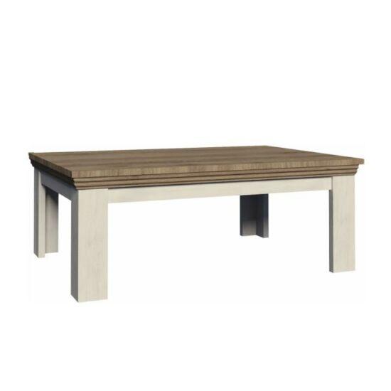 ROYAL Dohányzóasztal,északi erdei fenyő/tölgyfa [LN2]