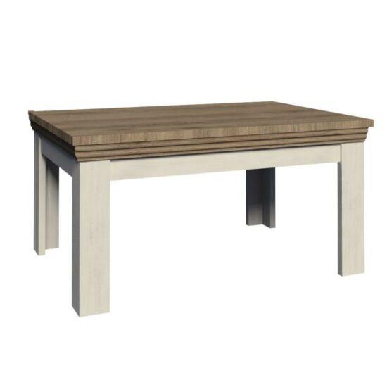 ROYAL Étkezőasztal - széthúzható,  északi lucfenyő / vad tölgyfa [ST]