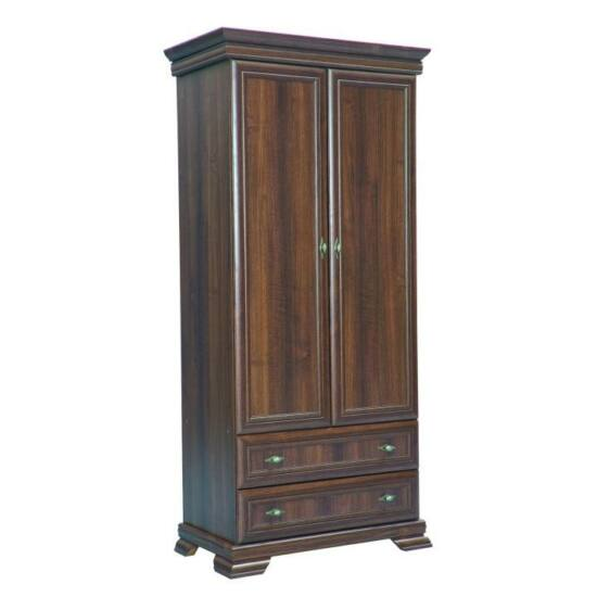 KORA 2-ajtós szekrény,  samoa king [KS1]