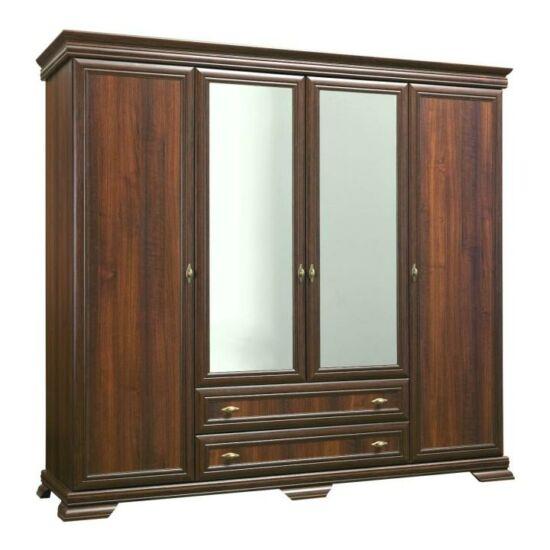 KORA 4-ajtós szekrény,  samoa king
