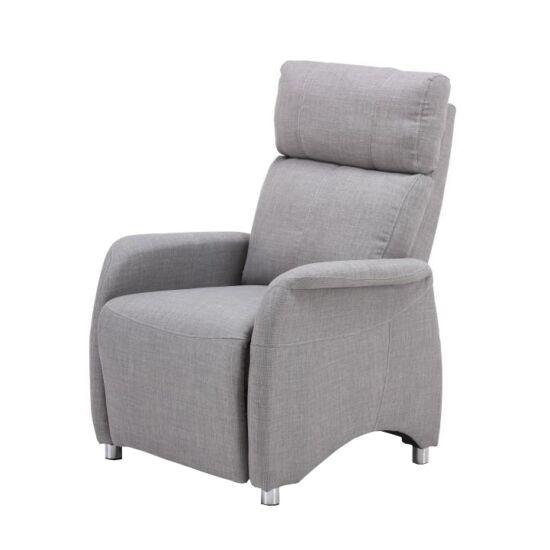 FOREST Állítható fotel,  szürke szövet