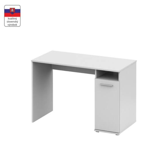 PC asztal,  fehér [NOKO-SINGA 21]