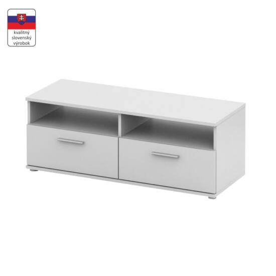 RTV asztal,  fehér [NOKO-SINGA 12]