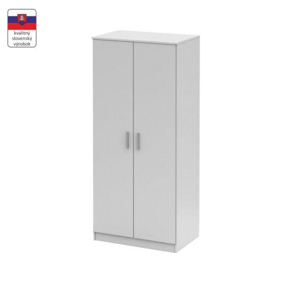 NOKO-SINGA Akasztós szekrény,  fehér [80]