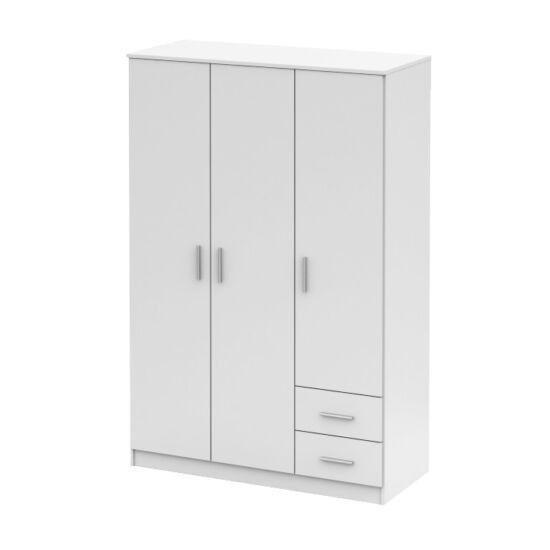 NOKO-SINGA Háromajtós szekrény,  fehér [84]