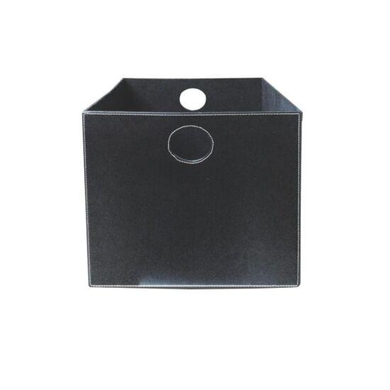 TOFI-LEXO tároló doboz,  fekete