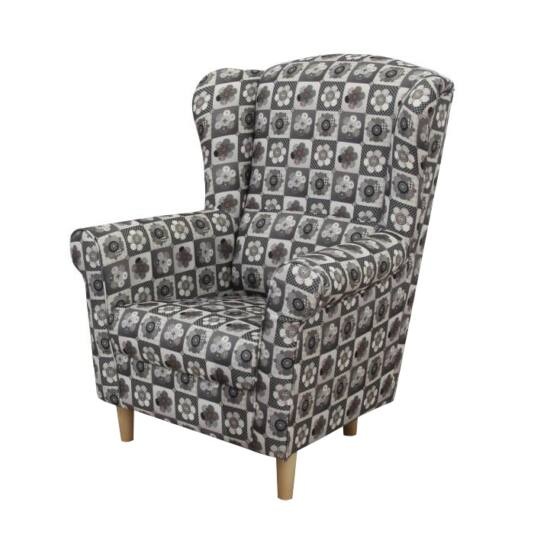 CHARLOT Fotel,  patchwork N1