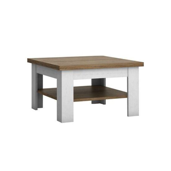 PROVANCE Dohányzóasztal,  fenyő Andersen + lefkas tölgyfa