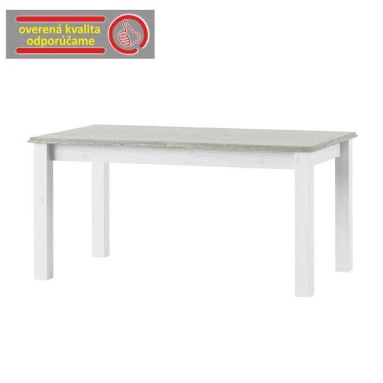 LIONA Nyitható étkezőasztal,  fehér [LM 88]