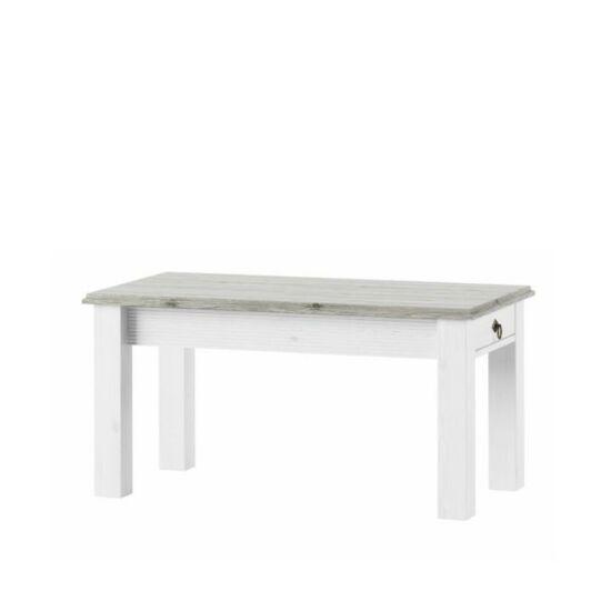LIONA Dohányzóasztal,  fehér [LM 97]