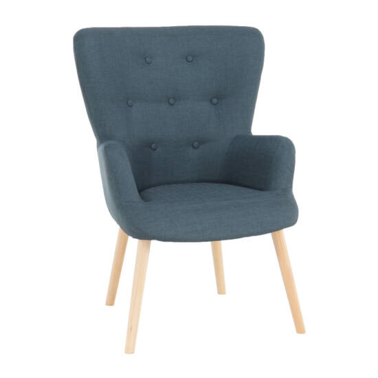 BRANDO Modern fotel,  szürkés-zöld