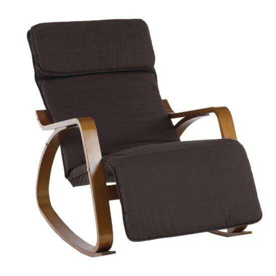 SIVERT Hinta szék - barna nyírfa,  barna anyag