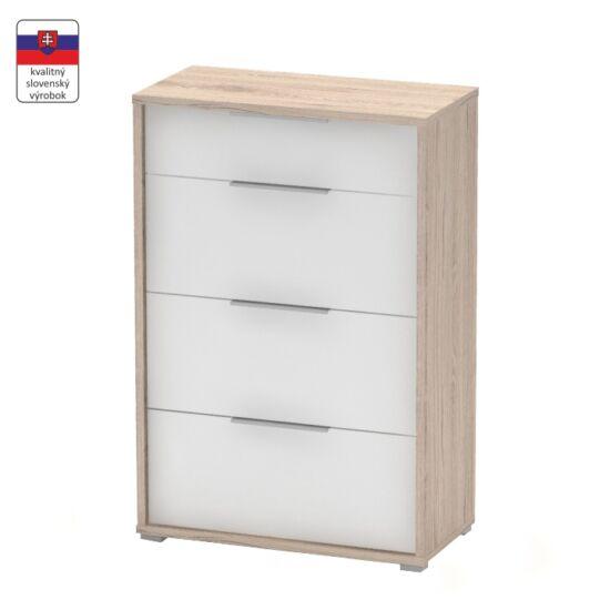 szekrény,san remo/fehér,rioma typ 09.