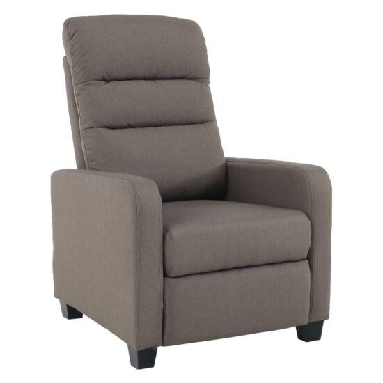 TURNER Relaxáló fotel,  barna