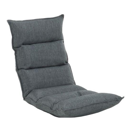 LOTA Relaxáló fotel,  szövet szürke [NEW]