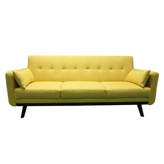 ARKADIA Kinyitható kanapé,  mustár