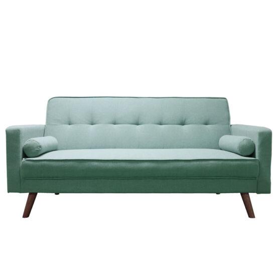OTISA Kinyitható kanapé,  zöld-mentol szövet