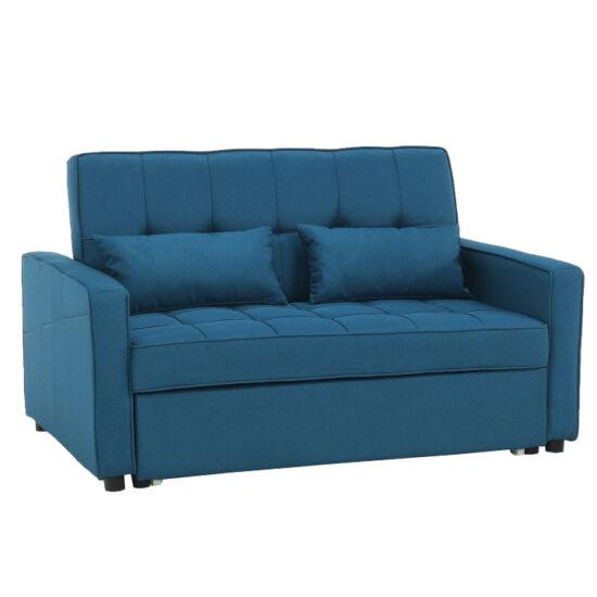 FRENKA Kinyitható kanapé,  türkiz [BIG BED]