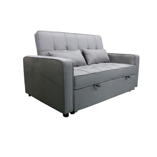FRENKA Kinyitható kanapé,  szürke [BIG BED]