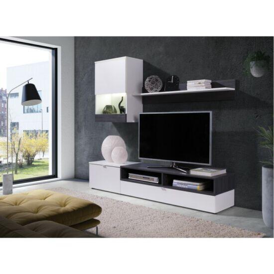 ROSO Nappali bútor,  fehér/sosna sötét