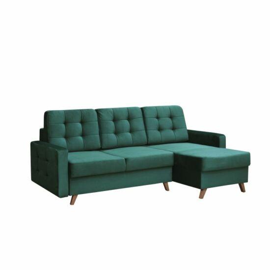 MEDLIN Univerzális ülőgarnitúra,  smaragd/dió