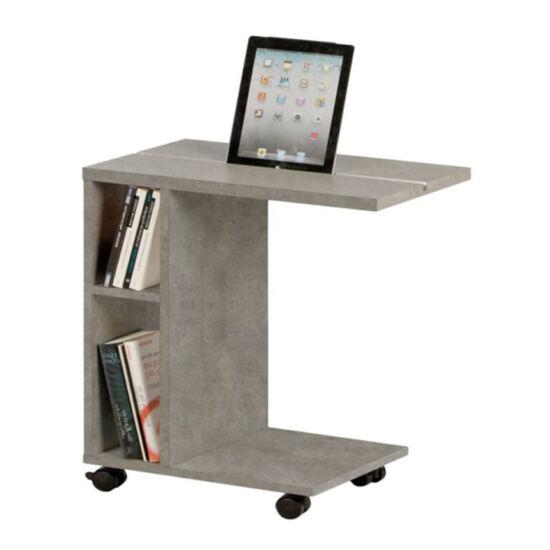 NIDEN kisasztal,  világos beton