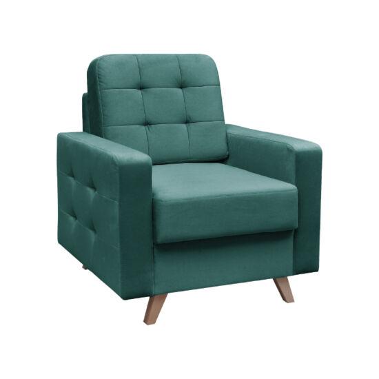 MEDLIN Fotel,  smaragd / dió