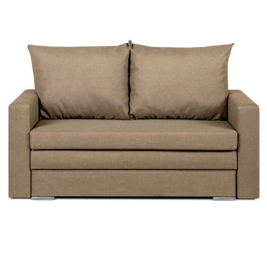 DOTY széthúzhatós kanapé,  világosbarna melír