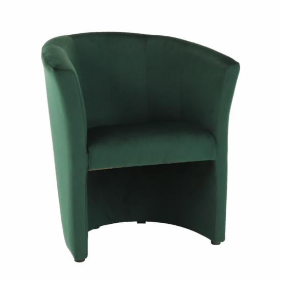 CUBA Fotel,  smaragd anyag