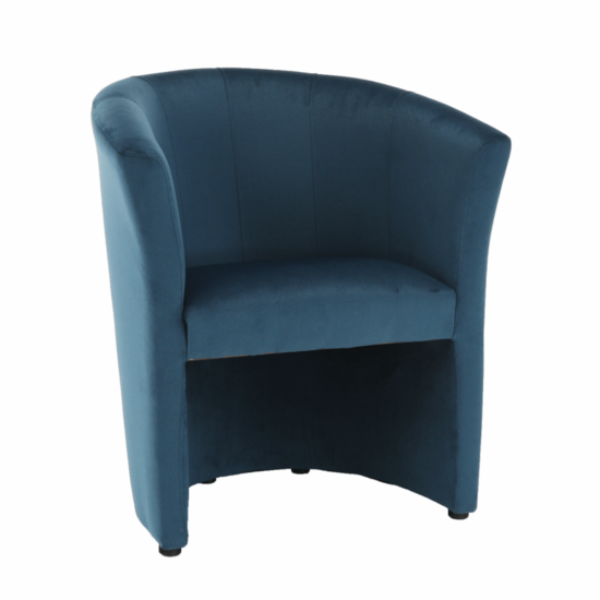 CUBA Fotel,  kék anyag