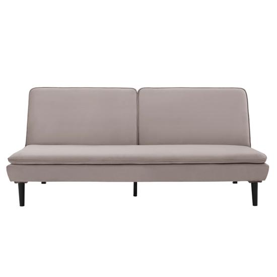 BUFALA kanapé ágyfunkcióval,  szuükésbarna velvet anyag