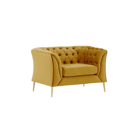 NIKOL Luxus fotel,  arany [1 ML]