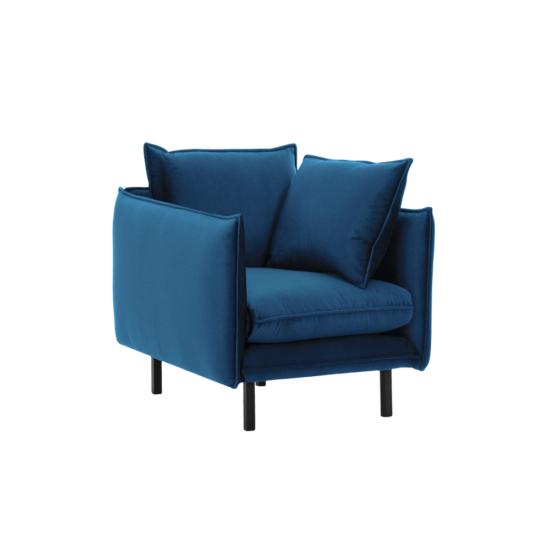 VINSON Luxus fotel,  párizsi kék [1]