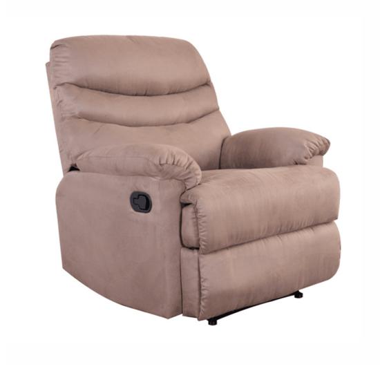 LAMBERT Állítható masszázs  fotel,  fekete bársony anyag