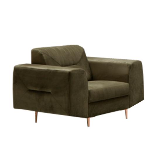 LEXUS Fotel,  zöld/réz
