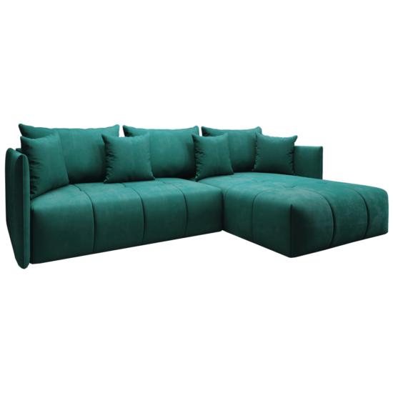 LENY Univerzális ülőgarnitúra,  smaragd [ROH]