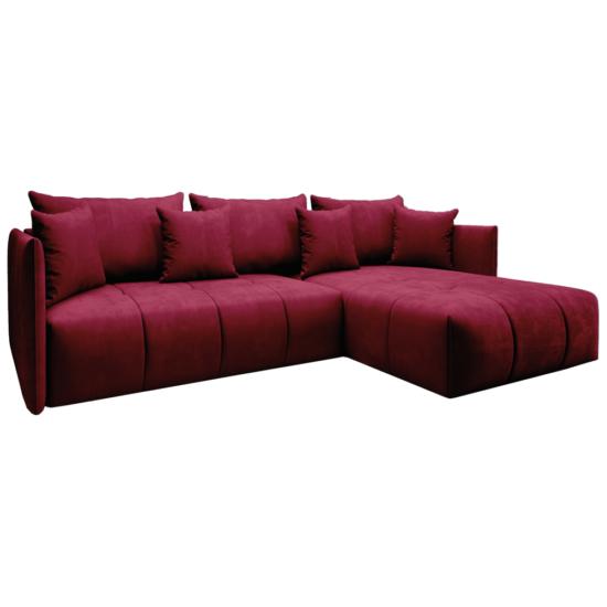 LENY Univerzális ülőgarnitúra,  piros [ROH]