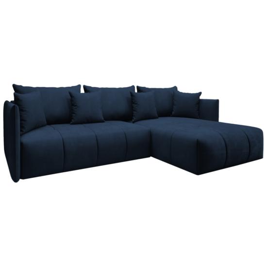 LENY Univerzális ülőgarnitúra,  párizsi kék [ROH]