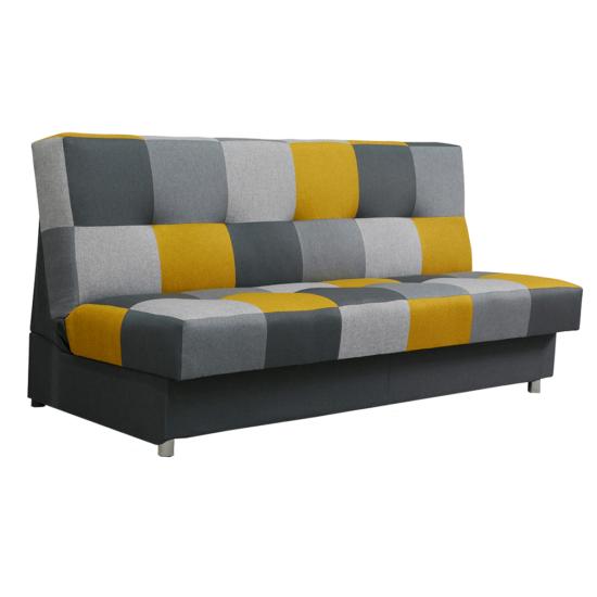 ALABAMA kanapé, mustár/szürke