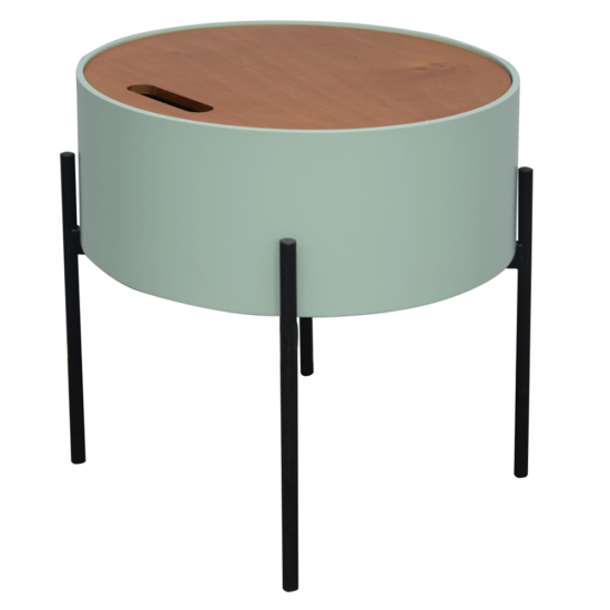 MOSAI kisasztal, neo mint/természetes/fekete