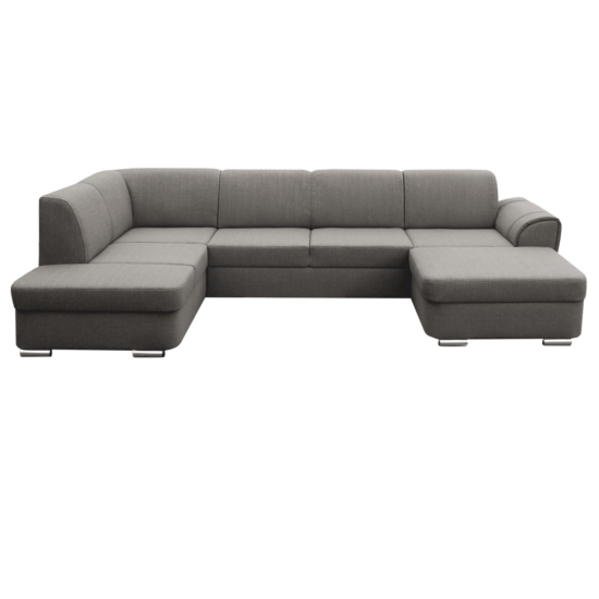 PEPER U alakú ülőgarnitúra - barna Soro 24,  balos [U]