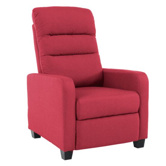 TURNER Relaxáló fotel,  málna