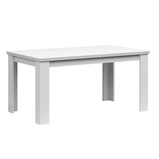 ARYAN Szétnyitható étkezőasztal - 160/200cm,  fehér
