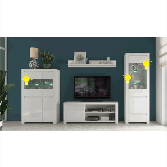 ARYAN/LINDY LED világítás - 2-pontos,  fehér
