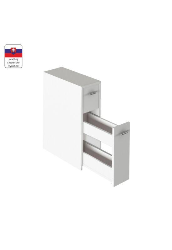NATALI Fürdőszoba szekrény,  fehér [TYP 7]
