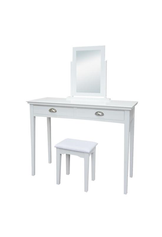 RESINA Fésülködőasztal - sminkasztal,  fehér